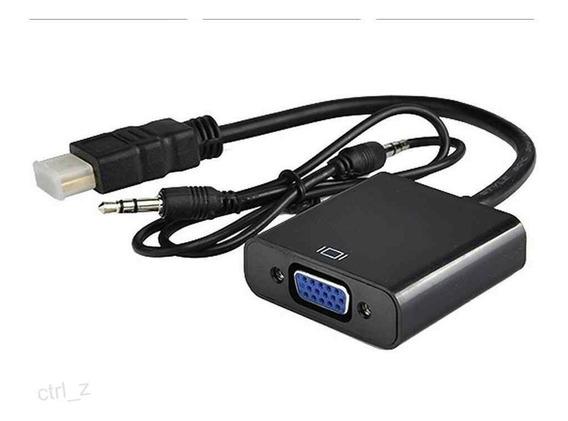 Cable Adaptador Hdmi A Vga Con Audio Ps3 Zona Alto Rosario Blaster Pc
