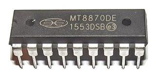Mt8870de Mt8870 De Baja Potencia Dtmf Decodificador De Tonos