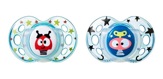 Chupos Bebés Fun Style Tommee Tippee 18-36m (2 Unidades)