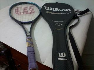 Antiga Raquete Tenis Wilson