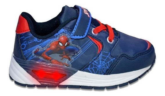 Zapatillas Marvel Casual Abrojo Light Spiderman Niño 1921003