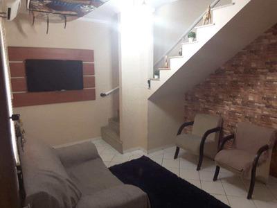 Casa Com 2 Dorms, Parque São Vicente, São Vicente - R$ 200.000,00, 66m² - Codigo: 9742 - V9742