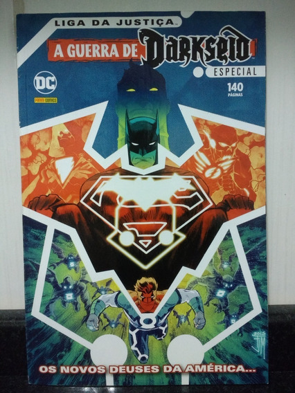 Hq Guerra De Darkseid Especial C/ Liga Justiça Panini Rjhm