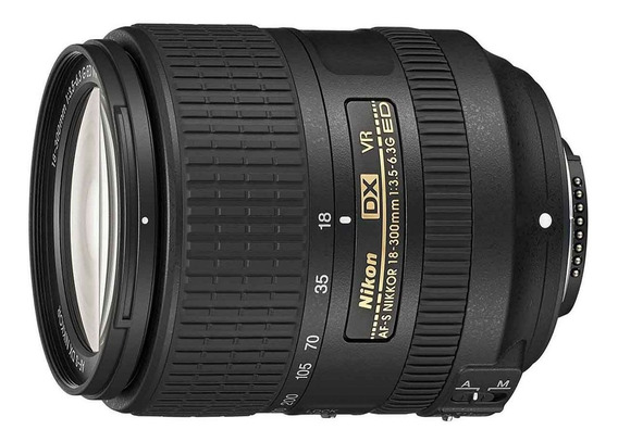 Lente Nikon 18-300mm F/3.5-5.6g Ed Vr Ii Af-s Dx Nikkor