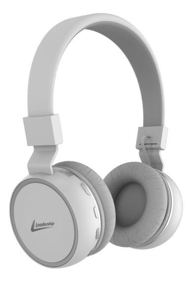 Fone Bluetooth Leadership Freedom Headphone Branco Fo-1377