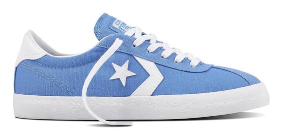 Zapatilla Converse Break Point Mujer Azul 157792c