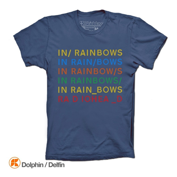 Radiohead Playeras In Rainbows Camiseta