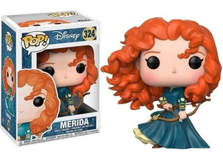 Funko Pop! Disney Valiente Brave Merida 324 Original