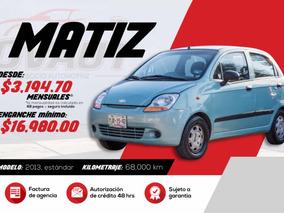Chevrolet Matiz 1.0 Ls Plus Mt 2013 Credito!!!