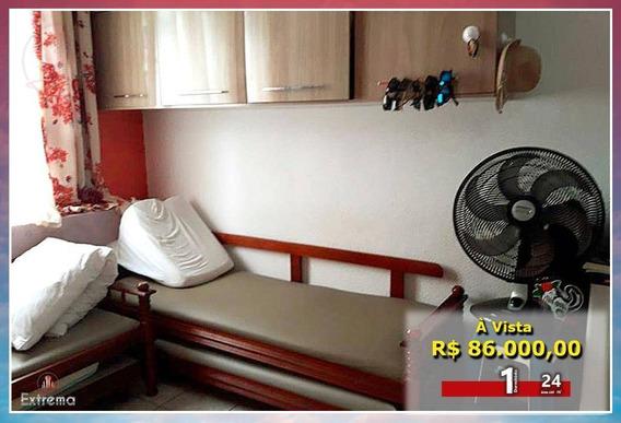 Kitnet Com 1 Dormitório À Venda, 24 M² Por R$ 86.000,00 - Ocian - Praia Grande/sp - Kn0158
