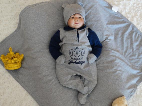 Kit Saída De Maternidade - Príncipe Artur - Menino - Bebê