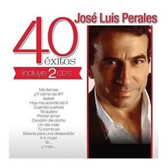 Perales Jose Luis 40 Exitos Canada Import Cd X 2 Nuevo