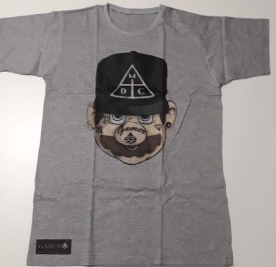 Camisa Damasaclan Mario Bros Dmc Geek