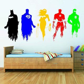 Vinil Decorativo Super Heroes, Buho, Lobo, Etc