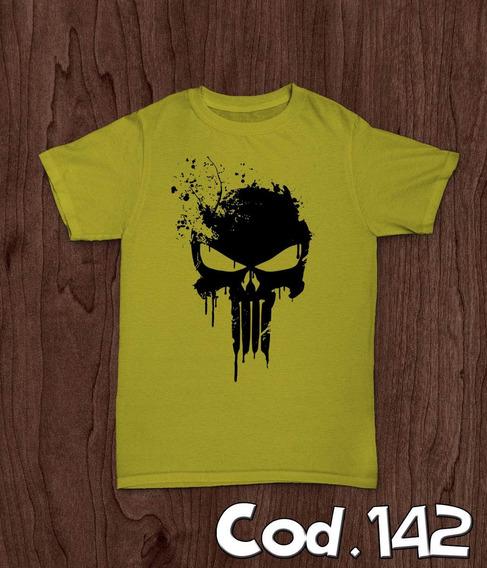 Camisa Camiseta Justiceiro Marvel Promoção Menor Preço
