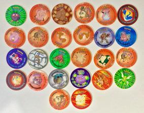 Tazos Pokémon Temos Que Pegar! Elma Chips (lote Com 26)