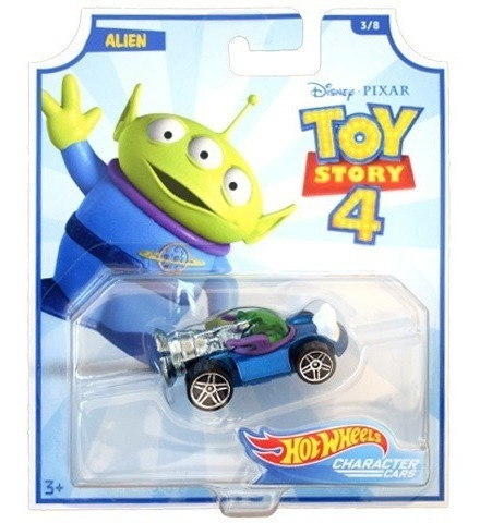 Hot Wheels Toy Story 4 Alien Mattel Disney Pixar