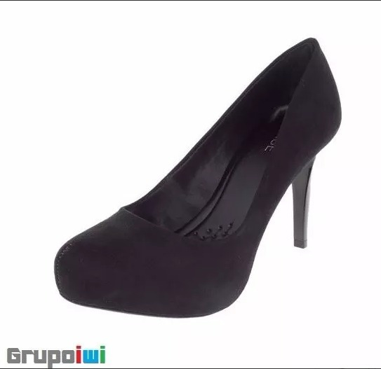 Sapato Scarpin Mixage Tubarão Festas
