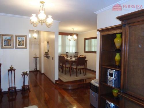 Apartamento De 3 Dormitórios, 1 Suíte, 2 Vagas. Centro De Jundiaí. - Ap0085