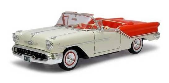 1957 Oldsmobile Super 88 Laranja - Escala 1:18 - Yat Ming