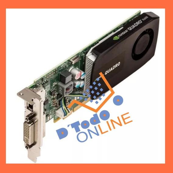 Tarjeta De Video Nvidia Quattro K600 1gb Ddr3