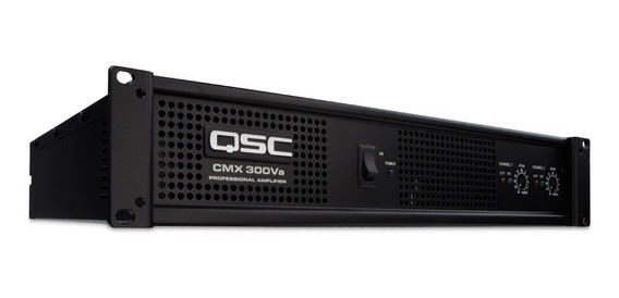 Qsc Amplificador Cmx 300v De 2 Canales A 200w