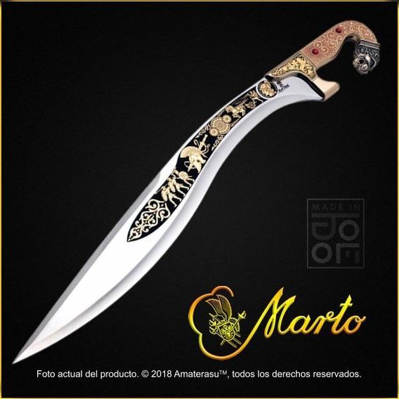 Espada Falcata Alejandro Magno Edición Limitada Marto Toledo