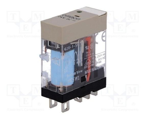 Relé Omron Eletromecânico G2r-2-snd Dc24(s) 24vdc