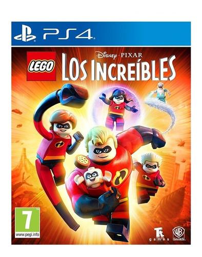Lego Los Increibles Ps4 Juga Con Tu Usuario-tenelo Hoy