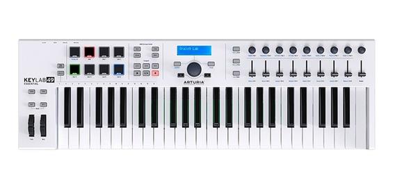 Arturia Keylab Essential 49 Teclado Midi Usb Controlador Vst