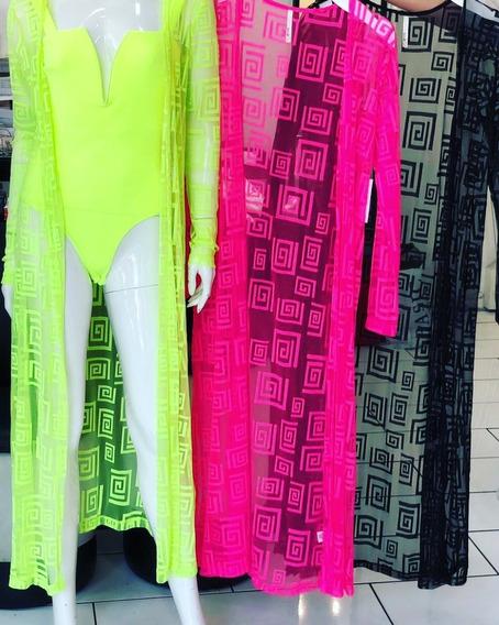 Kimonos Importados Salida De Baño Fluorescentes Ultima Tende