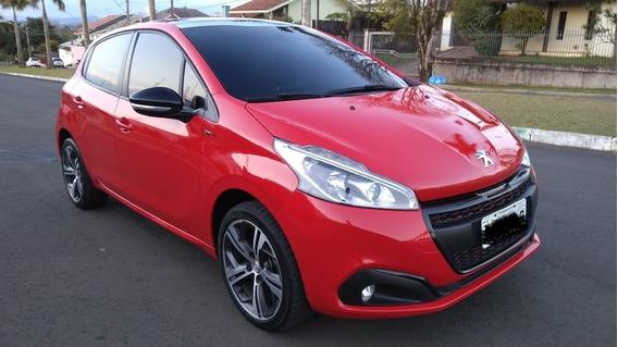 Peugeot Novo 208 Gt- Motor Thp - Estado De Zero - Único Dono