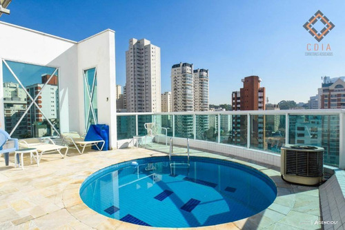 Cobertura Com 4 Dormitórios À Venda, 374 M² Por R$ 3.550.000,00 - Pinheiros - São Paulo/sp - Co1388