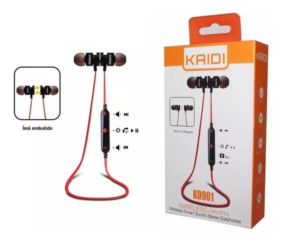 Fone Bluetooth Kaidi Kd-901 Pronta Entrega