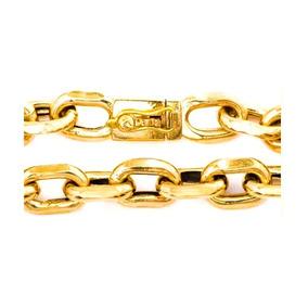 Pulseira Masculina Ouro 18k Cadeado Cartier 30g Oca 0017