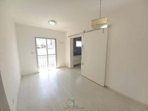 Paraíso - Apartamento Com Sacada E 01 Vaga! - 3791-1