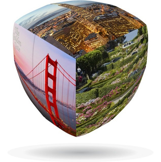 Cubo Rubik 2x2 V-cube San Francisco Gems Of Design