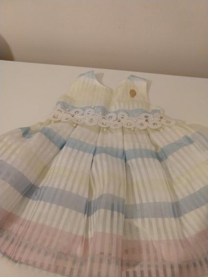 Vestido Pupi Para Nena Importado De Brasil. Nuevo. Un Año