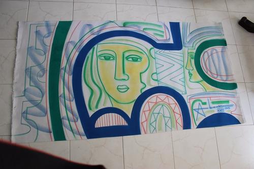 Venpermuto Pintura Oleo Pastel Del Maestro Abiezer Agudelo