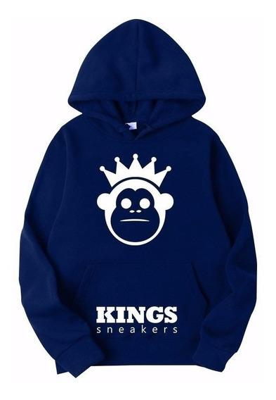 Moletom Blusa De Frio Kings Sneakers Infantil Unissex !!!