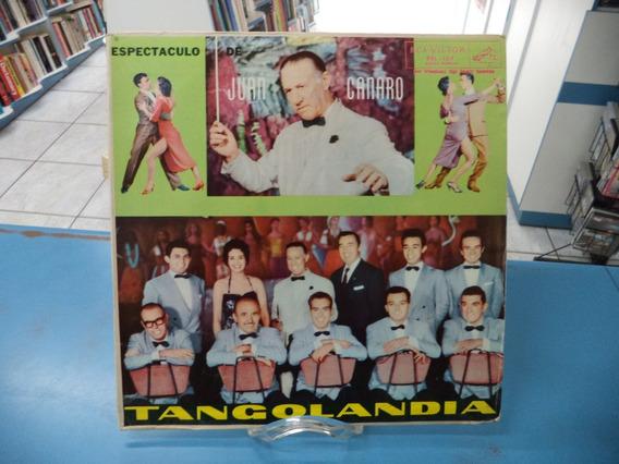 Lp/vinil Juan Canaro Tangolandia