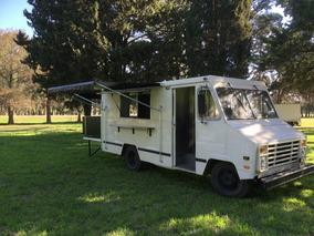 Food Truck Verdadero Listo Para Trabajar!!! No Trailer!
