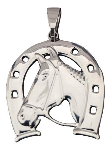 Pingente Rellicari Ferradura Cavalo De Aço Inox A003