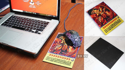 Mousepad Anime Yu-gi-oh Dragón Alado De Ra (tienda Friki)