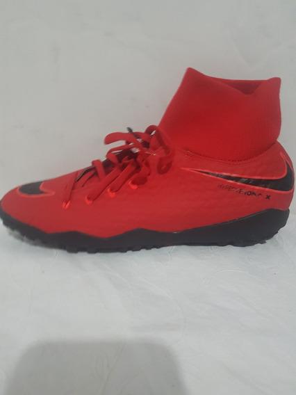 Chuteira Nike Hypervenom Society 2018 Pronta Entrega