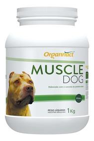 Organnact Muscle Dog Massa Muscular - 1kg (val.09/2020)