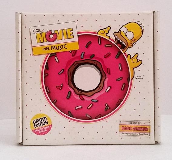Tk0m Cd Soundtrack The Simpsons Movie Donut Box Lacrado