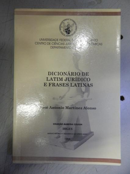 Dicionario De Latim Juridico E Frases Latinas