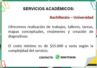 Servicios Académicos