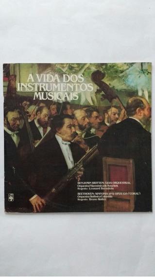 Lp Duplo A Vida Dos Instrumentos Musicais Frete Grátis